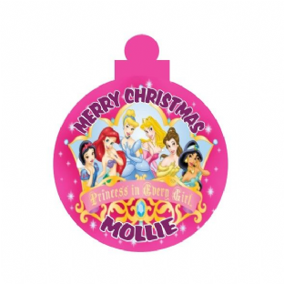 Disney Princess Acrylic Christmas Ornament Decoration